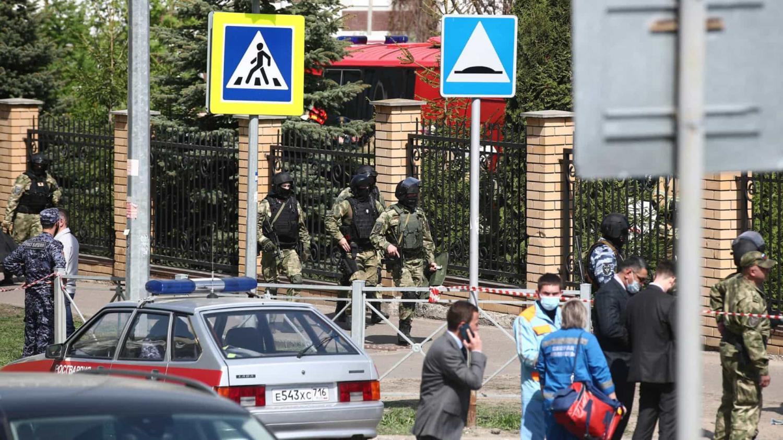Tiroteio em escola na Rússia mata professora e sete alunos